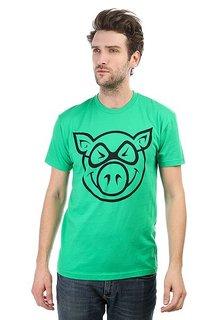 Футболка Pig Basic Green
