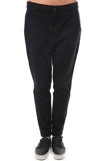 Штаны прямые женские Roxy Slowpointpant Anthracite