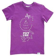 Футболка детская Picture Organic Quick Purple
