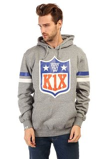 K1X Ballers Play Harder Hoody Dark Grey Heather