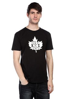 Футболка K1X Leaf Crest Tee Black/White