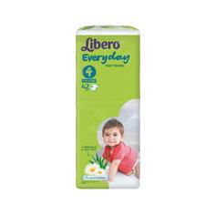 Подгузники Libero Everyday, Maxi 7-18 кг (4), 42 шт., Econom