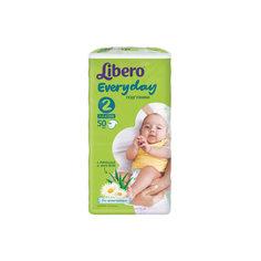 Подгузники Libero Everyday, Mini 3-6 кг (2), 50 шт., Econom