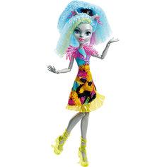 """Неоновая монстряшка Сильви Тимбервульф из серии """"Под напряжением"""", Monster High Mattel"""