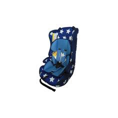 Автокресло LOGS SEAT 9-36 кг., Babyhit, синий в белую звёздочку