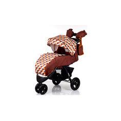 Прогулочная коляска VOYAGE AIR, Babyhit, коричневый с оранжевым