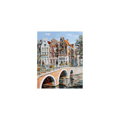 """Живопись на холсте """"Императорский канал в Амстердаме"""", 40*50 см Белоснежка"""