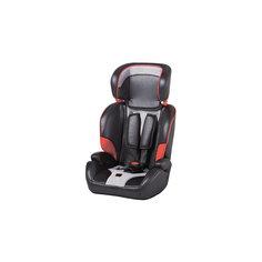 Автокресло CS906F-W4HH 9-36 кг., Geoby, черный с серым и красным