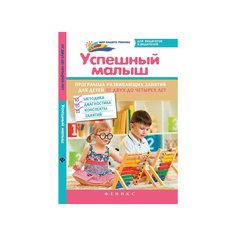 """Книга """"Успешный малыш"""", программа развивающих занятий для детей 2-4 лет Fenix"""