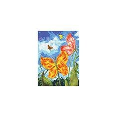 "Живопись на холсте ""Бабочки"", 30*40 см Белоснежка"