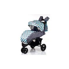 Прогулочная коляска VOYAGE AIR, Babyhit, серый с голубым