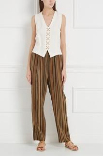 Шелковые брюки (1990-е) Emanuel Ungaro Vintage
