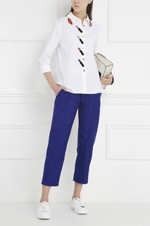 Шелковые брюки Haider Ackermann