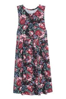 Хлопковое платье (1980-е) Pierre Cardin Vintage