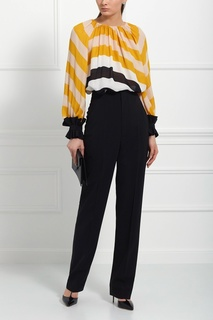 Шелковая блузка Fendi