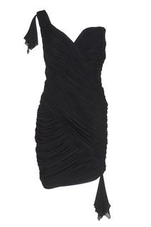 Асимметричное платье (1980-е) Azzaro Vintage