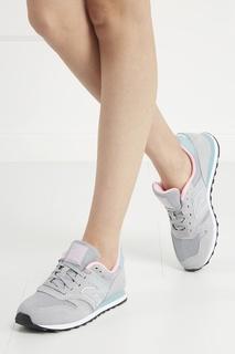 Замшевые кроссовки №373 New Balance