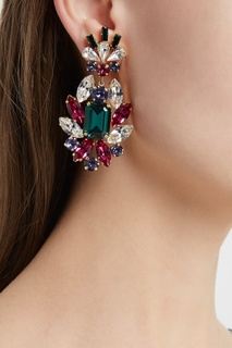 Серьги с кристаллами Dolce & Gabbana
