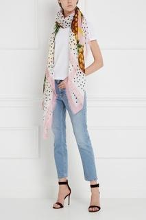 Льняной платок Dolce & Gabbana
