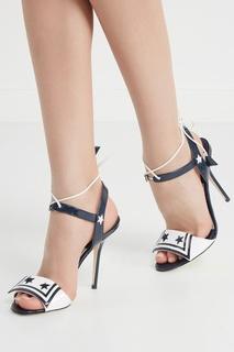 Босоножки из лакированной кожи Dolce & Gabbana