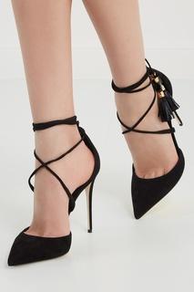 Замшевые туфли Dolce & Gabbana