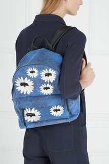 Рюкзак из кожи и денима Chiara Ferragni