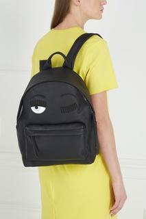 Кожаный рюкзак Chiara Ferragni