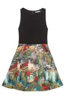 Платье с принтом Alice + Olivia