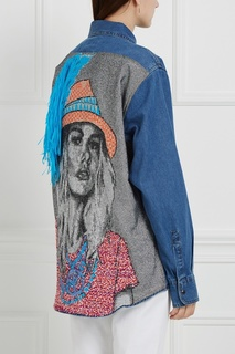 Рубашка из денима Kate Forte Couture