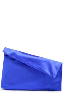Клатч Foldover из сатина Diane Von Furstenberg