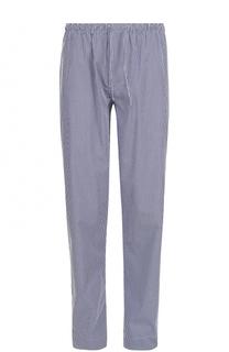 Хлопковые домашние брюки свободного кроя Zimmerli