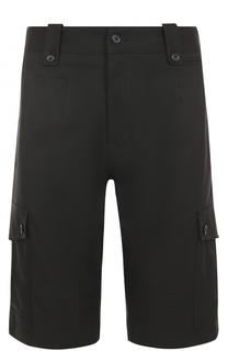 Хлопковые шорты с накладными карманами Dolce & Gabbana