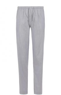 Домашние брюки свободного кроя из смеси хлопка и шелка Zimmerli