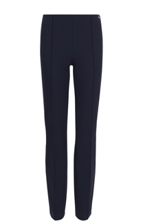 Укороченные брюки-скинни с фактурными стрелками Escada Sport