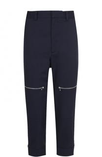 Хлопковые брюки свободного кроя с заниженной линией шага Stella McCartney