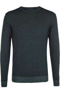 Пуловер из шерсти тонкой вязки Daniele Fiesoli