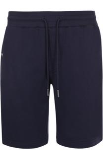 Хлопковые шорты свободного кроя Moncler