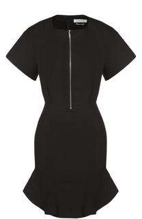 Приталенное мини-платье с круглым вырезом на молнии Isabel Marant Etoile