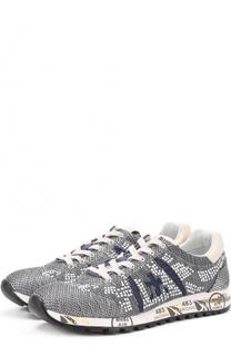 Комбинированные кроссовки Lucy-D с заклепками Premiata
