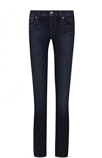 Укороченные джинсы-скинни с контрастной прострочкой Paige