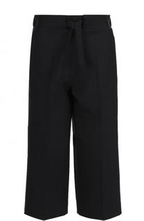 Укороченные брюки прямого кроя со стрелками Victoria Beckham