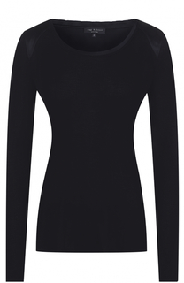 Пуловер фактурной вязки с круглым вырезом Rag&Bone Rag&Bone