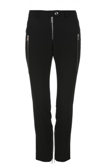 Укороченные зауженные брюки с карманами Alexander McQueen