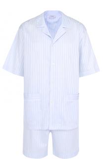 Хлопковая пижама с шортами Zimmerli