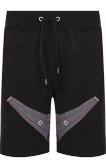 Хлопковые шорты свободного кроя Frankie Morello