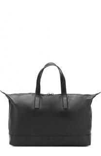 Кожаная спортивная сумка Santoni