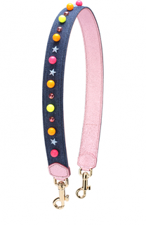 Ремень для сумки с аппликациями Dolce & Gabbana