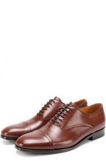 Классические кожаные оксфорды Giorgio Armani