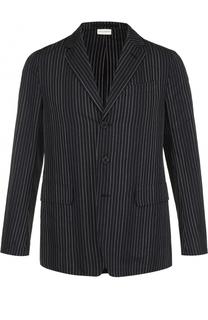 Хлопковый однобортный пиджак Dries Van Noten