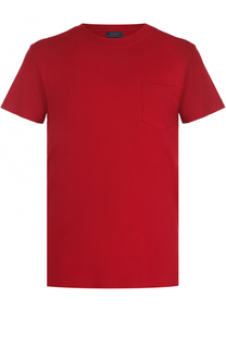 Хлопковая футболка с круглым вырезом Belstaff
